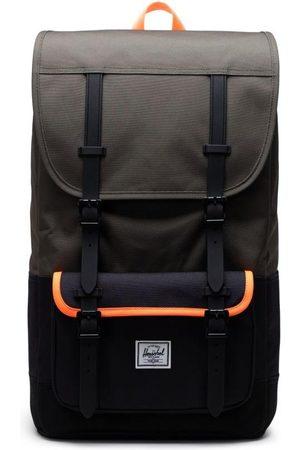 Herschel Little America Pro Backpack - Ivy Green/Black/Shocking Orange