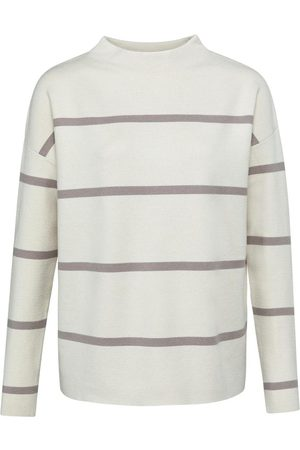 YaYa Striped Sweater Mushroom