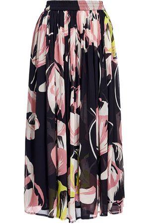 Essentiel Antwerp Women Printed Skirts - ARDEN FLORAL-PRINT MIDI SKIRT