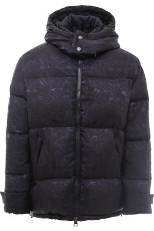 Etro Men Puffer Jackets - Nylon quilted and padded jacket