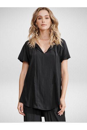 Layerd Women T-shirts - Layer'd Laulu Tee Coal
