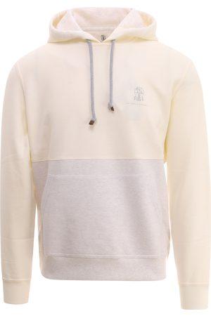 Brunello Cucinelli Men Sweatshirts - Cotton sweatshirt