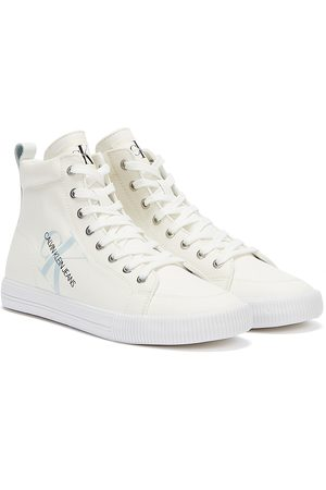 Calvin Klein Jeans Vulcanized Mid Lace Up Mens Trainers