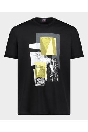 Paul & Shark Organic Cotton T-Shirt With Regatta Print