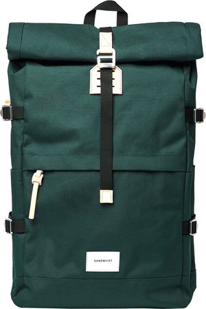 Sandqvist Bernt Backpack - Dark With Natural Leather
