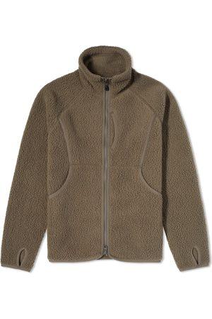 Snow Peak Men Fleece Jackets - Thermal Boa Fleece Jacket