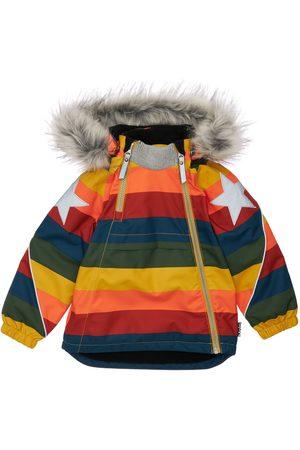 Molo Boys Puffer Jackets - Puffer Ski Jacket W/ Fur