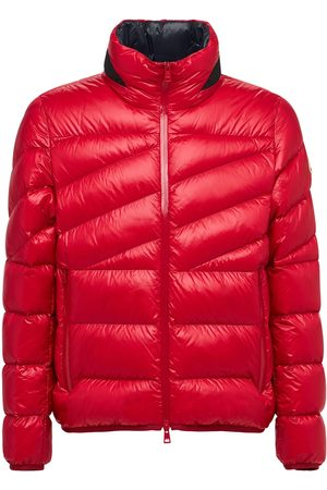 Moncler Hanin Shiny Micro Ripstop Down Jacket
