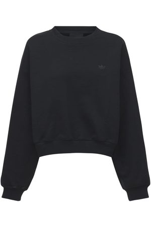 adidas Women Sweatshirts - Batwing Crewneck Sweatshirt