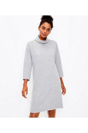 LOFT Women Tunic Dresses - Petite Funnel Neck Tunic Dress