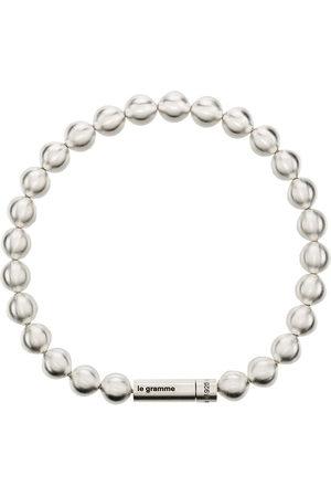 Le Gramme Men Bracelets - Le 47g brushed bead bracelet