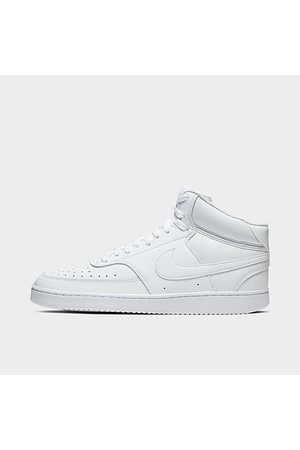 Nike Men's Court Vision Mid Casual Shoes in / Size 8.0 Leather