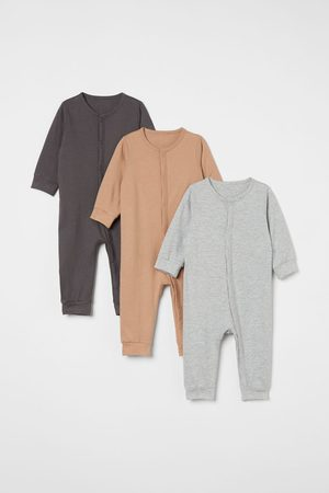 H&M Kids Jumpsuits - 3-pack Cotton Jumpsuits