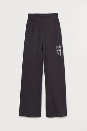 H&M Women Wide Leg - Wide-leg Joggers