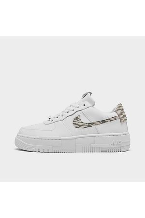Nike Women Casual Shoes - Women's Air Force 1 Pixel SE Animal Casual Shoes in /Animal Print/ Size 5.0 Leather
