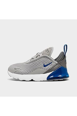 Nike Casual Shoes - Boys' Toddler Air Max 270 Casual Shoes in Grey/Light Smoke Grey Size 5.0