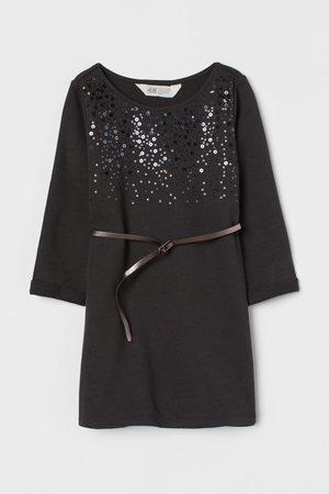 H&M Belted Sweatshirt Dress