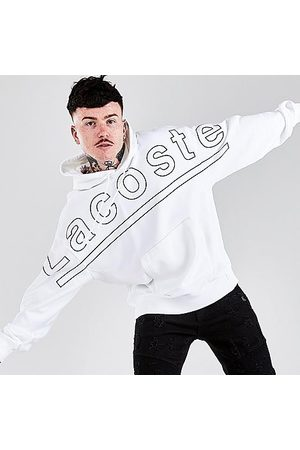 Lacoste Men's Graphic Hoodie in / Size Small Cotton/Fleece