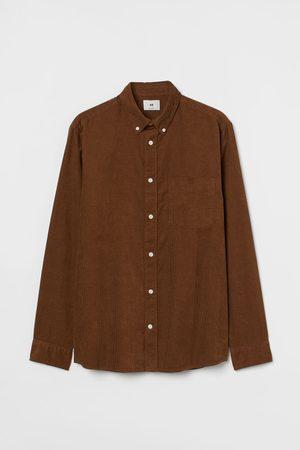 H&M Regular Fit Corduroy Shirt