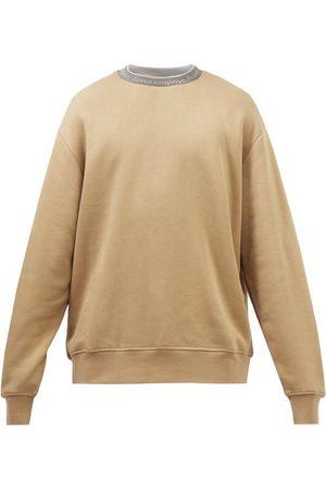 Acne Studios Logo-jacquard Jersey Sweatshirt - Mens