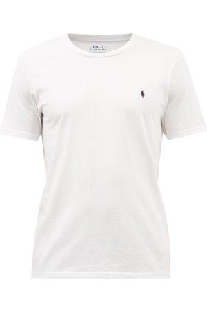 Polo Ralph Lauren Logo-embroidered Cotton-jersey T-shirt - Mens