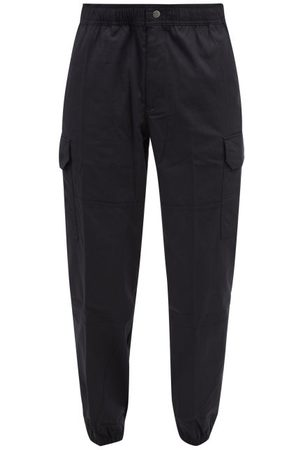 The North Face Men Cargo Pants - Karakash Embroidered Cotton-blend Cargo Trousers - Mens