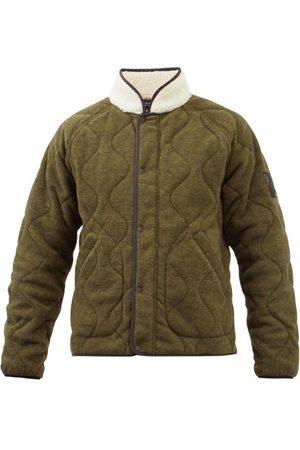 RAG&BONE Men Fleece Jackets - Shield Reversible Fleece-lined Quilted Jacket - Mens