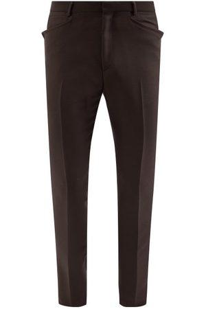 Tom Ford Twill Slim-leg Trousers - Mens