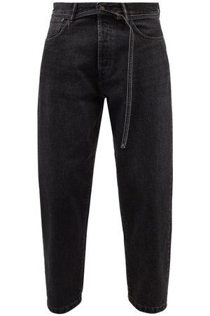 Acne Studios Men Straight - 1991 Toj Belted Straight-leg Jeans - Mens