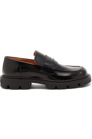 Maison Margiela Tread-sole Leather Loafers - Mens