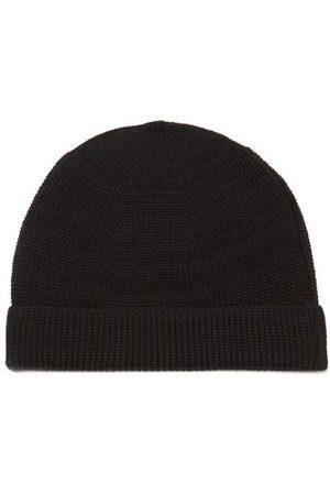 Snow Peak Men Beanies - Ribbed Wool-blend Beanie Hat - Mens