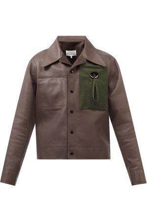 Maison Margiela Reversible Leather Jacket - Mens