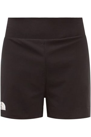 The North Face Men Sports Shorts - Stridelight Logo-print Jersey Shorts - Mens