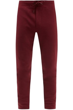 Polo Ralph Lauren Men Sweatpants - Fleece Tech Logo-embroidered Jersey Track Pants - Mens - Burgundy