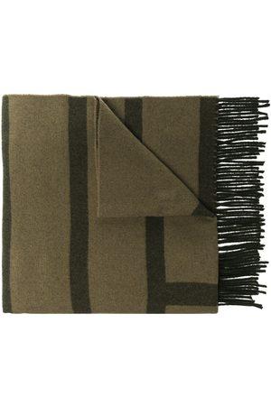 Totême Large monogram scarf - Neutrals