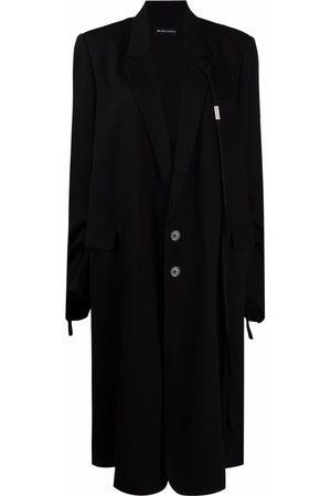 ANN DEMEULEMEESTER Oversize single-breasted coat
