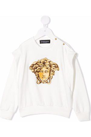 VERSACE Medusa Head embroidered sweatshirt