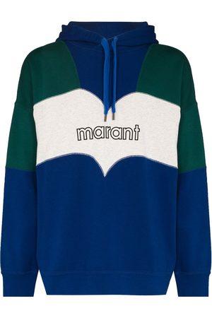 Isabel Marant Men Hoodies - Olan colour-block hoodie
