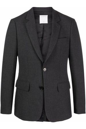 Sandro Men Blazers - Single-breasted tailored blazer - Grey