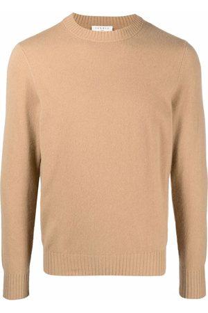 Sandro Men Sweatshirts - Crewneck cashmere jumper