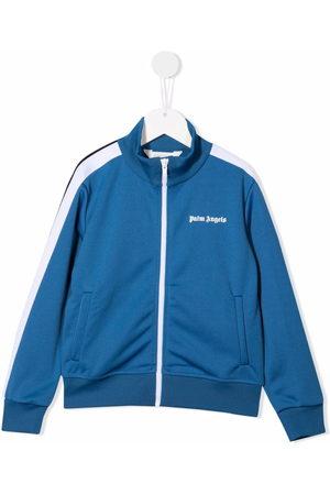 Palm Angels Boys Bomber Jackets - Logo-print track jacket