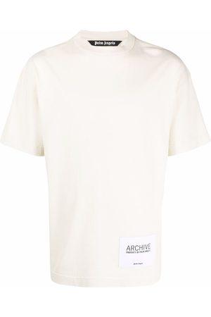 Palm Angels Archive-patch T-shirt - Neutrals
