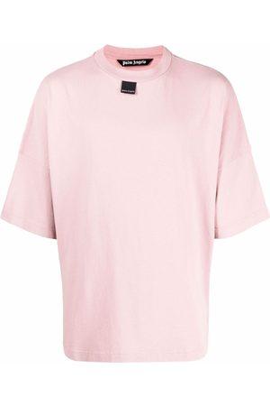 Palm Angels Men T-shirts - Blurred-logo T-shirt