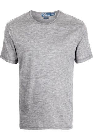 Polo Ralph Lauren Men Short Sleeve - Round-neck short-sleeve T-shirt - Grey