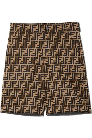 Fendi FF-motif shorts