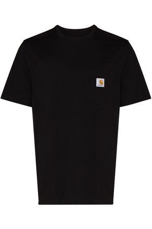 Carhartt Men Short Sleeve - Logo patch short-sleeve T-shirt