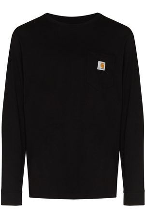 Carhartt Men Long Sleeve - Chest pocket long-sleeve T-shirt