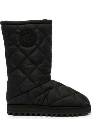 Dolce & Gabbana Men Snow Boots - Quilted snow boots