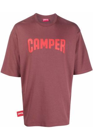 Camper Short Sleeve - Logo-print short-sleeve T-shirt