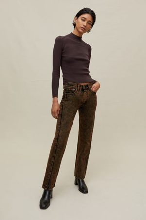 Urban Women Jeans - Recycled Acid Wash Jean